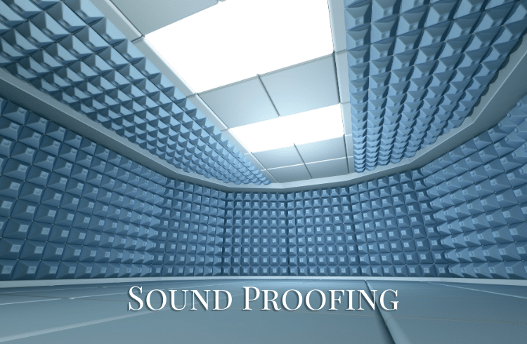 Sound proofing services at home